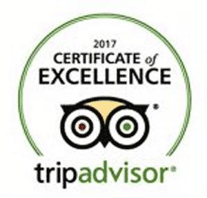 Travelers Choice Trip advisor