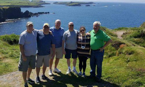 Group on the Dingle Coast